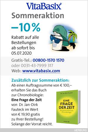 –10% Rabatt + GRATIS-Buch• VBX Sommeraktion 2019